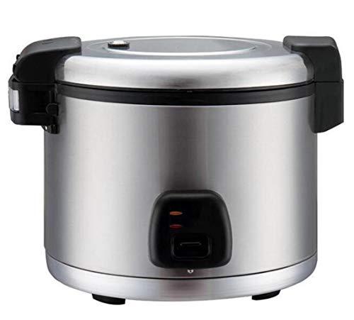 JSHFD Edelstahl elektrische Reiskocher und Dampfgarer, Antihaft-, kommerzielle Isolierung Ausrüstung, geeignet for Hotel, Gastronomie, Schule Großküche Kochtopf 13L / 14L / 19L / 21L