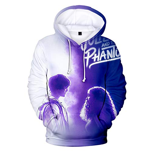 Uniform Julie and The Phantoms Print Pullover 3D Hoodie Sweatshirt Pullover Anime Casual Hooded Sweatshirt Gr. L, stil 4