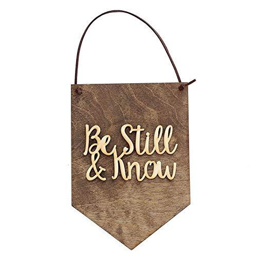 CELYCASY Be Still and Know, Cita Religiosa, decoración del hogar, let