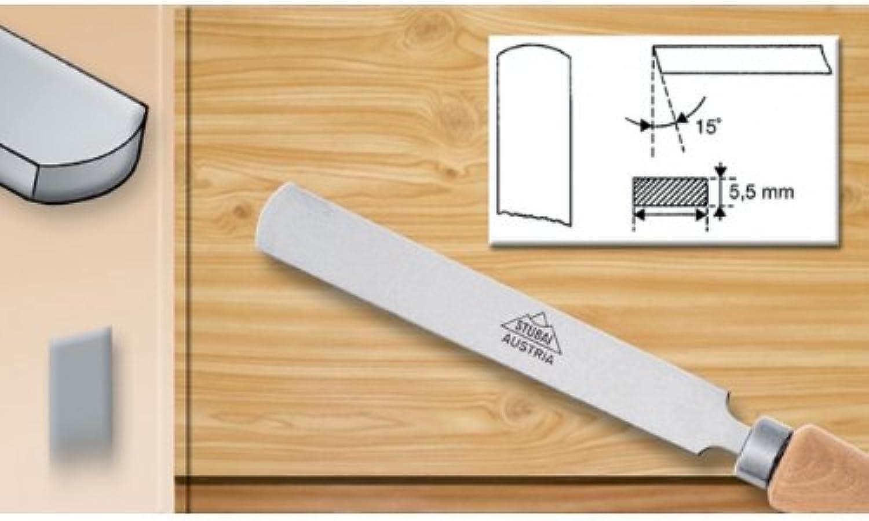 Stubai WS-Flachstahl rund rund rund mit Heft 15 mm, 363415 B00EZWZV2G   Ein Gleichgewicht zwischen Zähigkeit und Härte  ce38ee