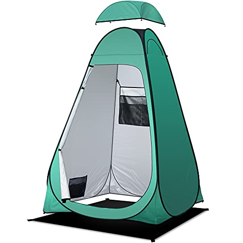 Camping Toilettenzelt riggoo Duschzelt Pop Up Umkleidezelt Privatsphäre...