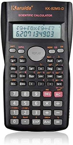 関数電卓 科学電卓 統計計算 数学電卓 多機能 2桁表示 10桁 LCD表示 2行表示モード 読みやすい 数学自然表示 複素数計算 行列計算 ベクトル計算 理系 学生 便利