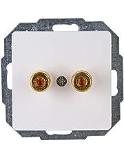 Kopp 921502085 Paris luidsprekerstopcontact