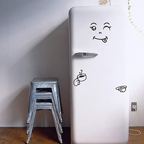 Wandaufkleber für wohnzimmer, vielzahl smiley bett wasserdicht kühlschrank aufkleber abstrakte zimmer büro moderne kunst kindergarten diy abziehbilder wand geschenk wand
