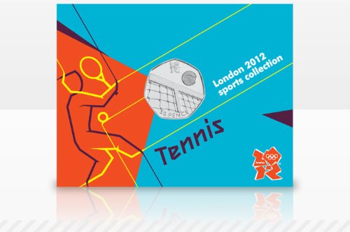Londres 2012 - La coleccin de los deportes 50p - Tenis