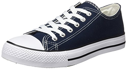 Beppi Canvas Shoe, Zapatillas de Deporte Hombre, Azul (Marinho Marinho), 40 EU