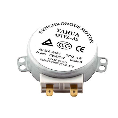 49TYZ-A2 Synchronmotor Geräuscharmer Motor Wellenlänge 11mm Für Lüfter Heißlüfter Mikrowellenherd