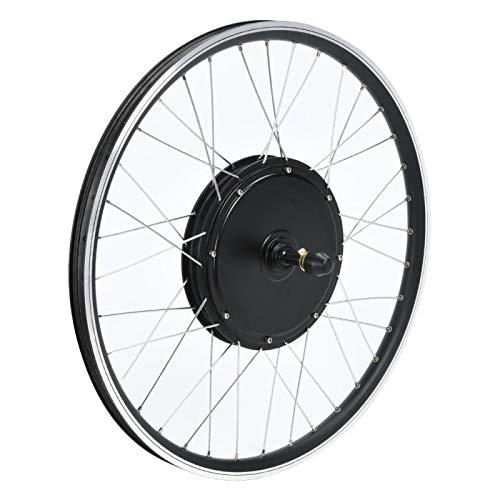 FOLOSAFENAR Kit de conversión de Bicicleta eléctrica 48V 1500W Motor Bicicleta de montaña Equipo de conversión de Bicicleta eléctrica, con medidor LCD(Rear Drive Card Fly)