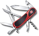 Victorinox Swiss Army Knife Evogrip 14, Red/Black