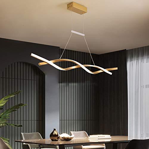 Moderna lámpara colgante LED de araña para comedor regulable lámpara de techo LED lámpara de techo para comedor lámpara con mando a distancia altura regulable dormitorio oficina baño decoración cocina