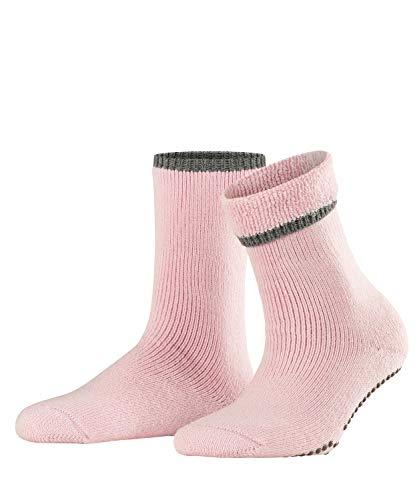 FALKE Damen Vollplüschsocken Cuddle Pads - Baumwollmischung, Warmer Vollplüschsocken für Damen aus Merinowolle und Baumwolle; ideal für Zuhause, Rosa (Sakura 8909), 39-42, 1er Pack