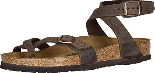 Birkenstock Yara Habana Oiled Leather 42 (US Women's 11-11.5) Regular