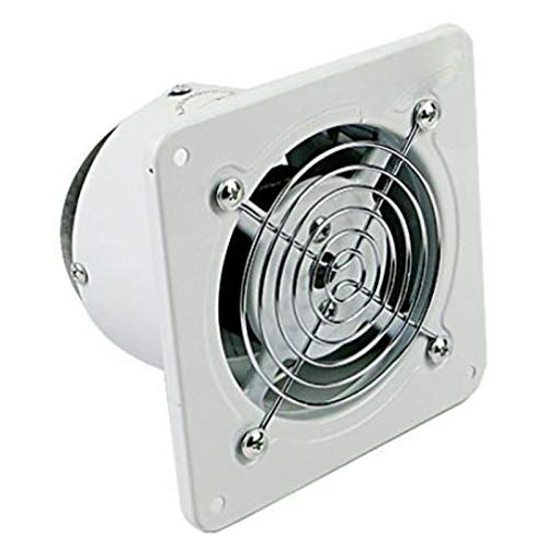 WOVELOT 4 Pulgadas 20W 220V Extractor de ExtraccióN de VentilacióN Ventilador Ventana Pared Cocina Inodoro BaaO Conducto Booster Ventilador Ventilador de Limpieza de Aire Limpio
