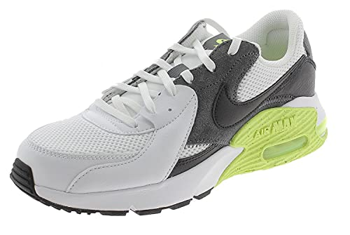 Nike Air MAX Excee, Zapatillas para Caminar Hombre, White Black Iron Grey Volt, 41 EU