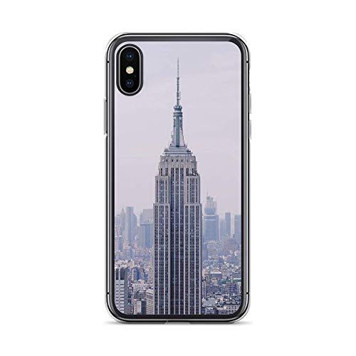 Sunnycase Funda para teléfono móvil Bronx Manhattan compatible con Huawei P9 Lite New York Hochhaus Protección, Carcasa Bumper Transparente alrededor de protección Dibujos animados M8