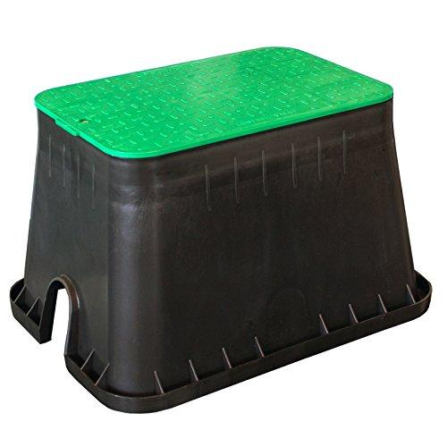 Ventilbox M Bodeneinbaudose groß, Verteilerdose Gartenelektrik Box ebenerdig Kerry kez1312