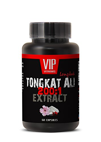 Sexual Enhancement Pills for Men Best Seller - TONGKAT ALI Extract 200:1 400MG - LONGJACK - Tongkat - 1 Bottle 60 Capsules