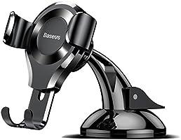 Baseus Osculum Teleskopik Araç İçi Telefon Tutucu, Siyah