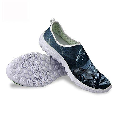 Gopumchy - Zapatillas de deporte para hombre, para correr, con objetos de...