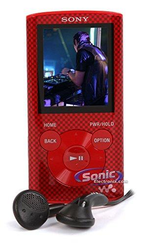 Sony Walkman NWZE374/RC 8GB MP3 Player Red