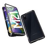 OVANN Hülle für Samsung Galaxy M21 Magnetische Adsorption