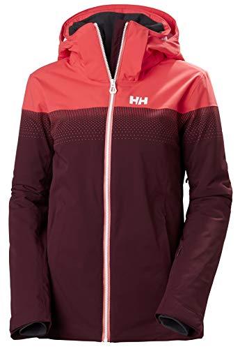 Helly Hansen W Motionista Lifaloft Jacket Chaqueta Con Doble Capa, Mujer, Wild Rose, M