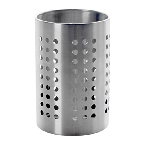 Ikea 30131716 Ordning Utensil Holder, Stainless Steel, 7, 7