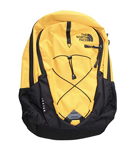 The North Face TNF Jester Backpack Citrus Yellow Black Pack Bag