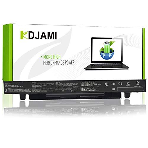 KDJAMI A41-X550A Batterie pour ASUS X550 X550C X550CA X550CC X550CL X550E X550L X550LN X550V X550VB X550VC X550VL Ordinateur PC Portable --garantie un an(4 Cellules 2950mAh 15V)