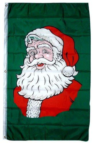 Fahne/Flagge Weihnachten Nikolaus Banner 90 x 150 cm