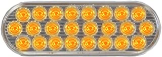 Maxxima M63201YCL 24 LED Amber Clear Lens 6