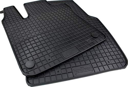Gummimatten Premium Qualität Fußmatten 2-teilig für ForTwo Forfour ab Bj. 11/2014 Twingo ab 09/2014