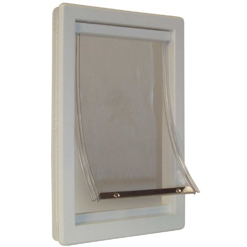 "PERFECT PET Soft Flap Cat Door with Telescoping Frame, Small, 5"" x 7\"" Flap Size"