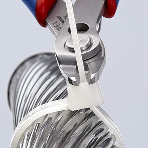KNIPEX Tools - Electronics Super Knips, INOX Steel, Multi-Component (7803125)