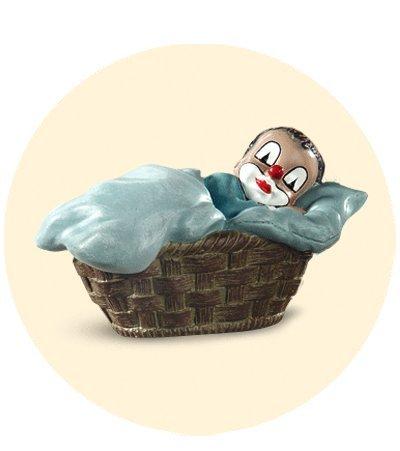 Gilde Clown Junge im Korb SONDERPREIS !!!