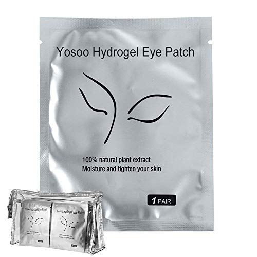 200 Pairs Set,Under Eye Pads, Lint Free Lash Extension Eye Gel Patches for Eyelash Extension Eye Mask Beauty Tool (200 Pair)