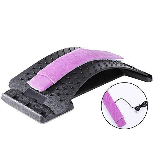 Electro Térmico Cinturón Cinturón Cintura Masajeador Compresión en caliente Carga USB Lumbago Dolor de espalda Tractor de cintura Coche doméstico
