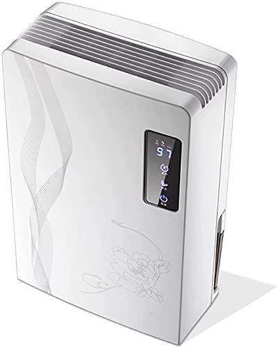 HXJZJ Mini Deumidificatore Elettrico, Essiccatore d'Aria Domestico, con Display a LED e Funzione di Sbrinamento Automatico, Serbatoio dell'Acqua da 2,2 Litri, per Seminterrato o Stanza più Piccola