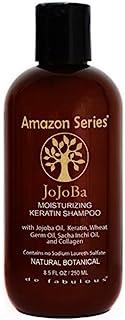 Amazon Series Jojoba Moisturizing Keratin Shampoo, 8.5 Fluid Ounce