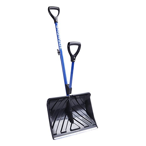 Our #1 Pick is the Snow Joe SJ-SHLV01 Strain Reducing Snow Shovel
