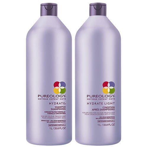 Pureology Hydrate Shampoo 1000 ml & Conditioner 1000 ml Duo