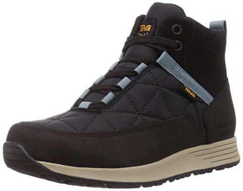 Teva Damen Ember Commute WP Boot Womens Sneaker, Black/Grey, 42 EU