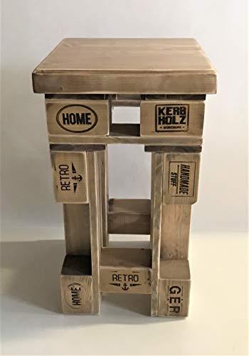 Palettenmöbel Barhocker in Palettenoptik Vintage gebeizt. Jedes Möbel ein Unikat und in Deutschland in Handarbeit Hergestellt.