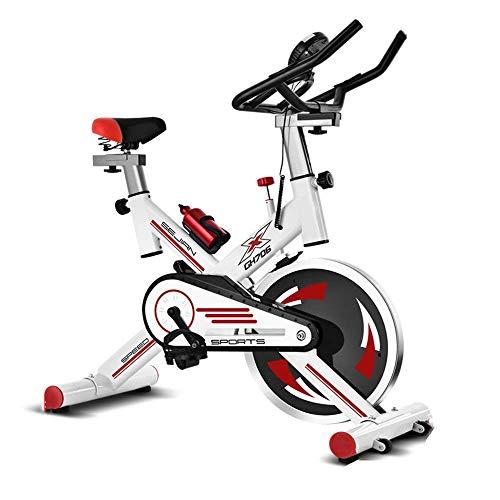 ZCYXQR Bicicleta estática Bicicleta de Ejercicio silenciosa para el hogar Deportes de Interior Entrenamiento en Bicicleta Bicicleta Vertical Tamaño Ajustable (Deporte de Interior)