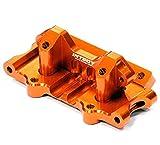 Integy RC Model Hop-ups T8641ORANGE Billet Machined T3 Front Bulkhead for 1/10 Rustler 2WD, Stampede 2WD & Slash 2WD
