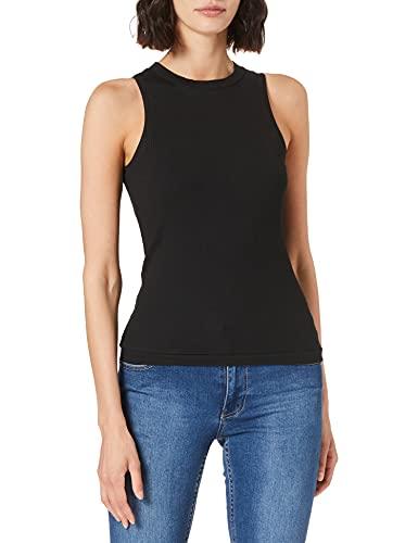 Vero Moda Vmlavender SL Top VMA Noos Camiseta sin Mangas, Black, XL...