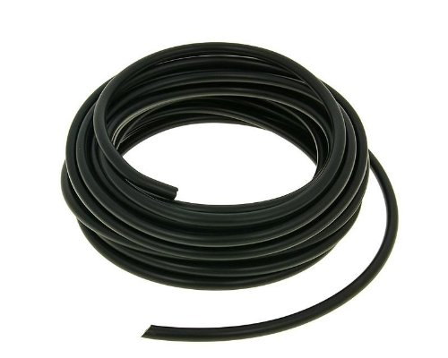 Zündkabel 7mm schwarz - 10m Rolle