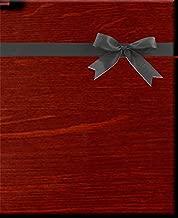 Woodlands Mahogany Wood Grain Kraft Gift Wrap Wrapping Paper -16ft