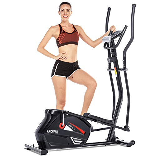 ANCHEER Eliptical Exercise Machine,Elliptical Cross Trainer for Home Use,Heavy-Duty Gym...