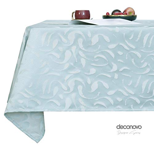 Deconovo Mantel Mesa Rectangular Decorativo Antimanchas